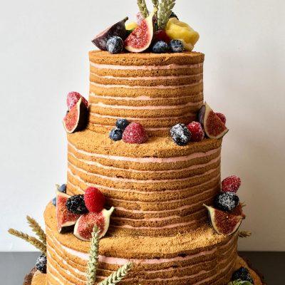 3 Tier Multi Layer Celebration Cake