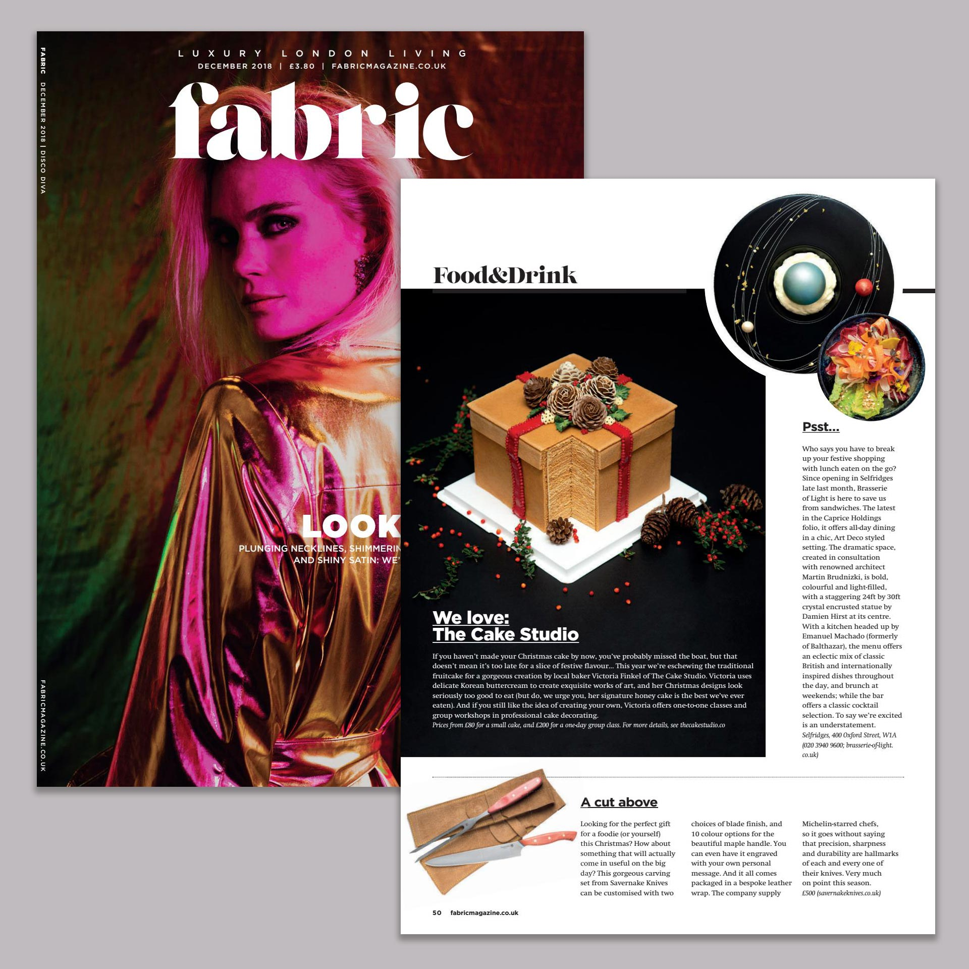 Feature in Fabric Magazine